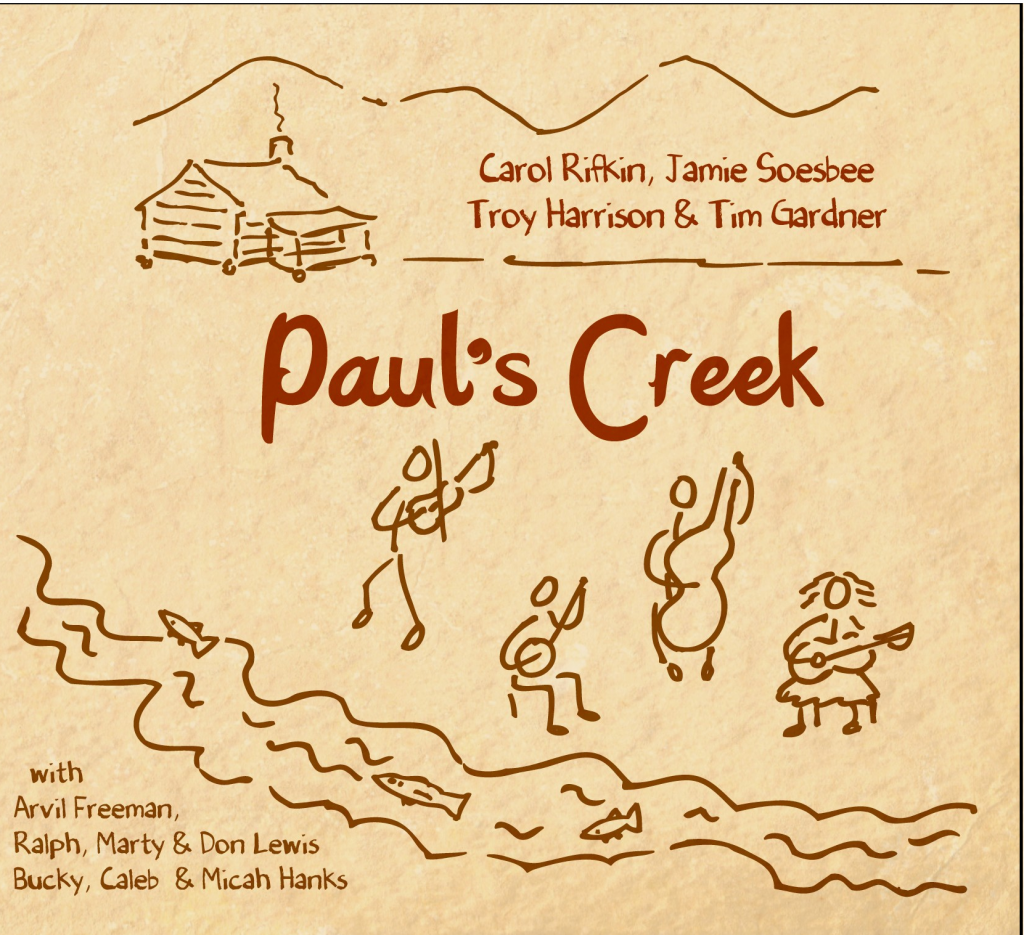 pauls creek cd cover april 2010